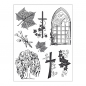Preview: Clear Stamps 14 x 18 cm -Kondolenz-
