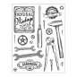 Preview: Clear Stamps 14 x 18 cm -Vintage Tools-