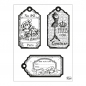 Preview: Clear Stamps 14 x 18 cm -Tags-Paris-