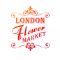 Mobile Preview: Universalschablone A4 -London Flower Market-