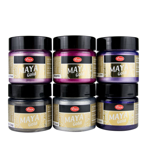 Maya Gold 6er Farbset -Sweet Dreams-
