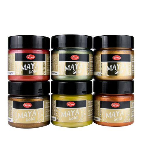 Maya Gold 6er Farbset -Indian Summer-