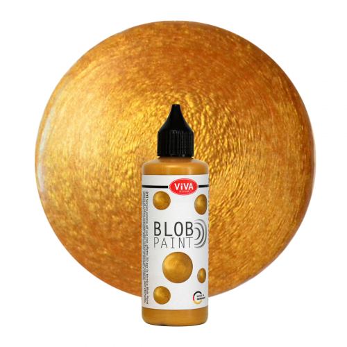 Blob Paint 90 ml - Gold Metallic -