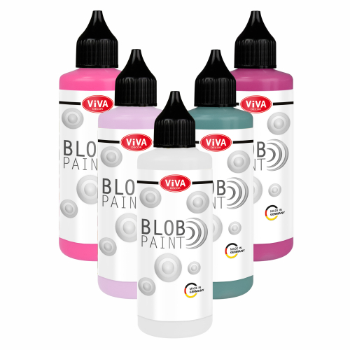 Blob Paint Set 5 x 90 ml   - Fairytale -