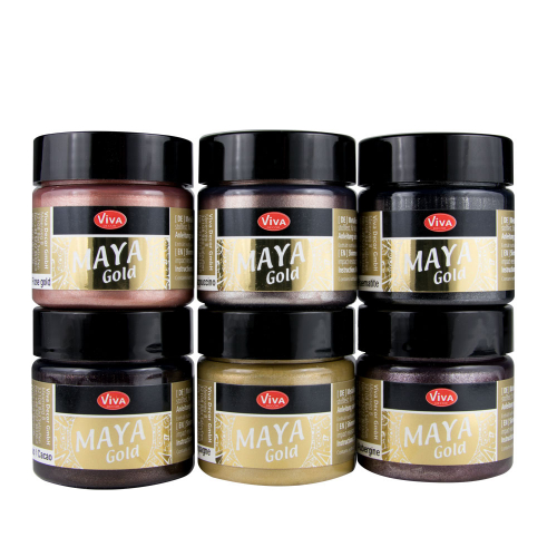 Maya Gold 6er Farbset -Enjoy Color-