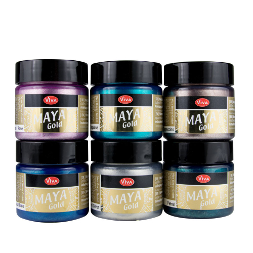 Maya Gold 6er Farbset -Sea Breeze-