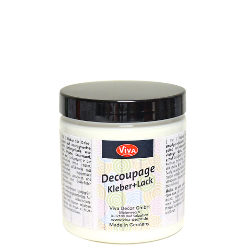 Decoupage Kleber &  Lack 250ml -Transparent-