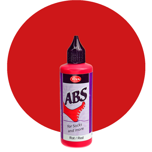 ABS for Socks and more 82ml -Rot-