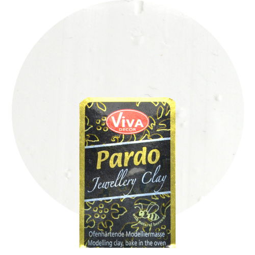 Pardo Jewellery Clay 56g -Weiß-
