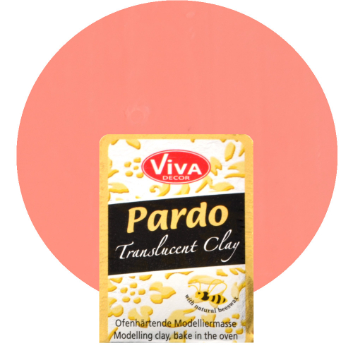Pardo Translucent Clay 56g -Orange-