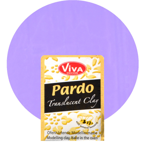 Pardo Translucent Clay 56g -Flieder-
