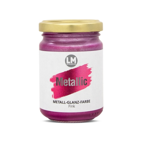 Metallic 125ml -Pink-