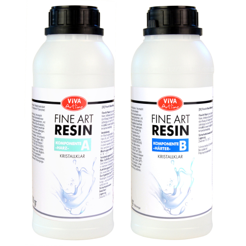 Fine Art Resin 1,5 kg - Kristallklar -