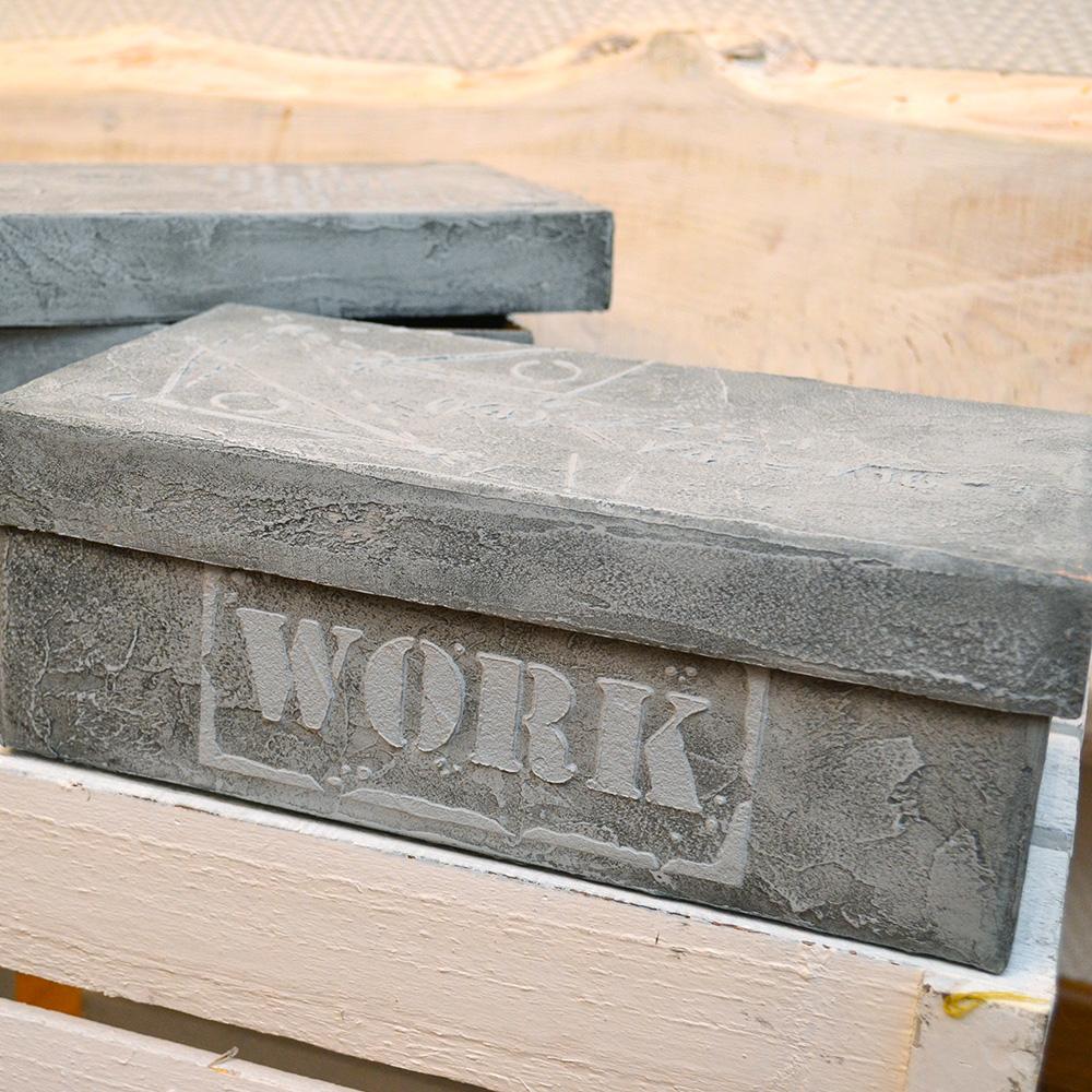 lm kreativ dein diy partner 2 x viva decor beton effekt set schablone. Black Bedroom Furniture Sets. Home Design Ideas