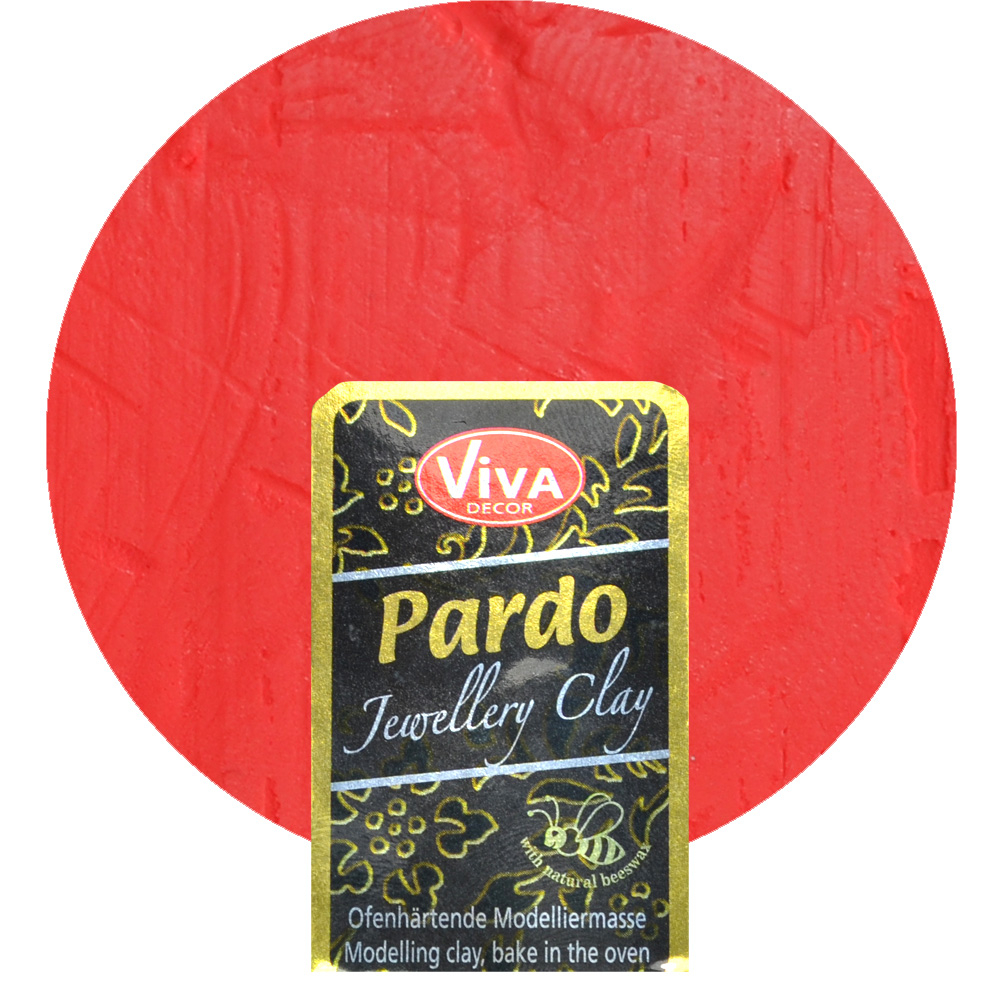 Pardo Jewellery Clay 56g -Roter Feueropal-